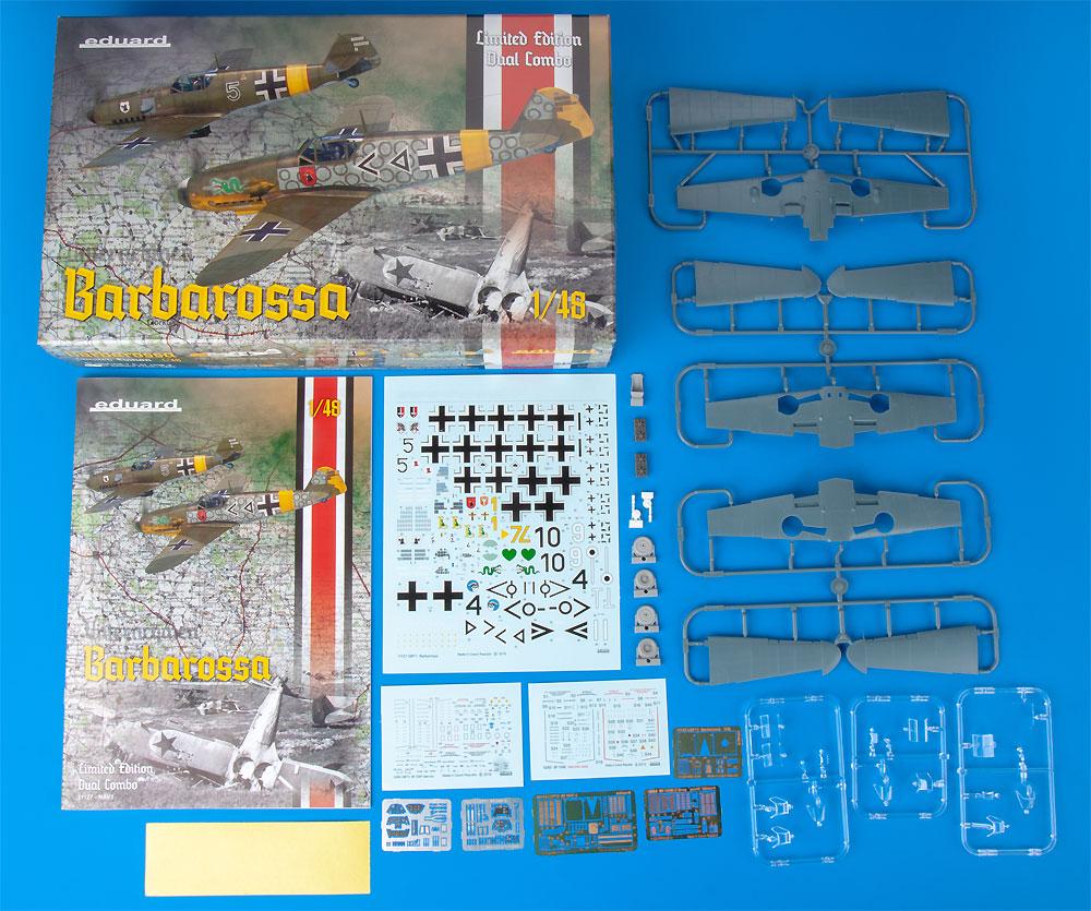 バルバロッサ作戦 Bf109E-4/E-7 & 109F-2 東部戦線 1941プラモデル(エデュアルド1/48 リミテッドエディションNo.11127)商品画像_1