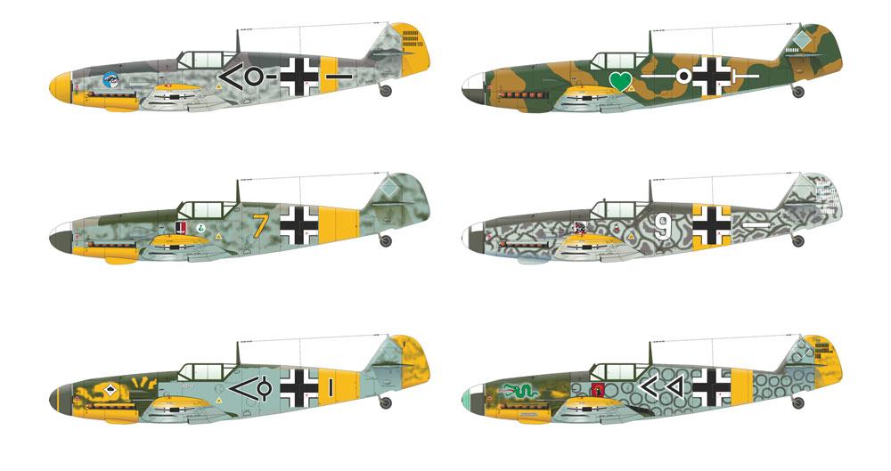 バルバロッサ作戦 Bf109E-4/E-7 & 109F-2 東部戦線 1941プラモデル(エデュアルド1/48 リミテッドエディションNo.11127)商品画像_3