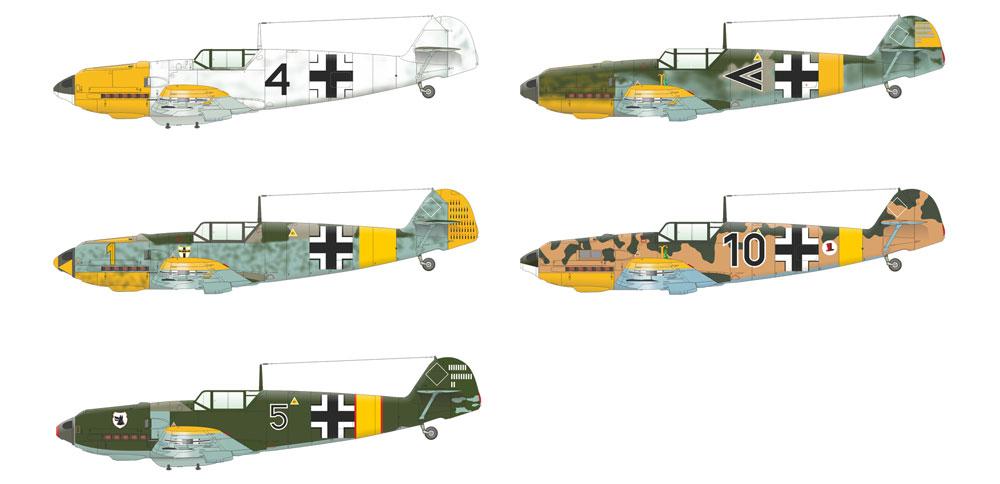 バルバロッサ作戦 Bf109E-4/E-7 & 109F-2 東部戦線 1941プラモデル(エデュアルド1/48 リミテッドエディションNo.11127)商品画像_4