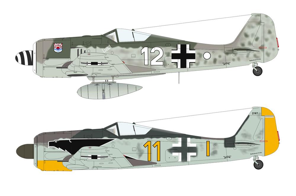 フォッケウルフ Fw190A-3プラモデル(エデュアルド1/48 ウィークエンド エディションNo.84112)商品画像_3
