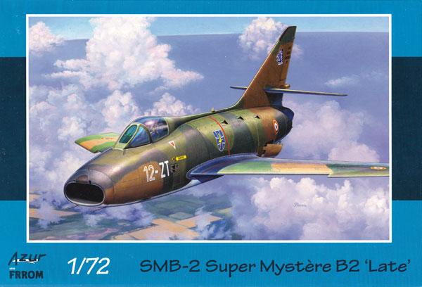 ダッソー SMB-2 シュペル ミステール B2 後期プラモデル(アズール1/72 航空機モデルNo.FR036)商品画像