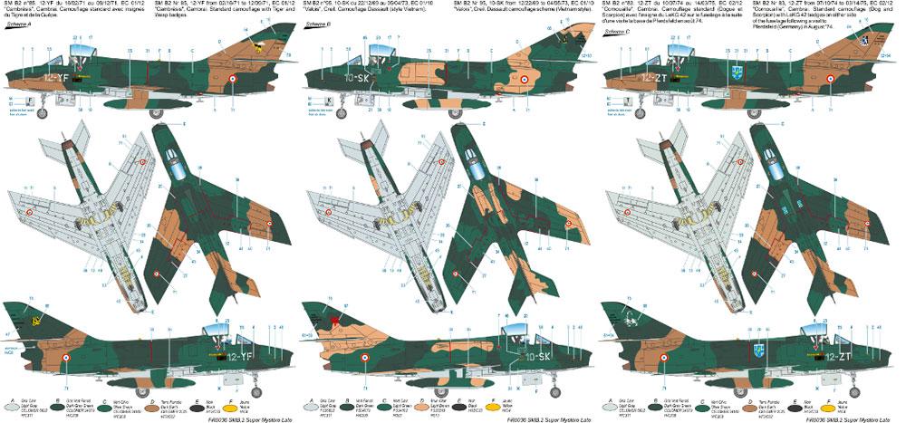 ダッソー SMB-2 シュペル ミステール B2 後期プラモデル(アズール1/72 航空機モデルNo.FR036)商品画像_2