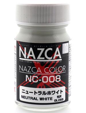 NC-008 ニュートラルホワイト塗料(ガイアノーツNAZCA カラーシリーズNo.30725)商品画像