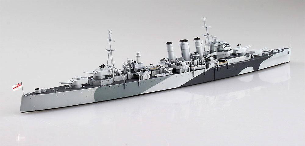 英国海軍 重巡洋艦 ノーフォーク 北岬沖海戦プラモデル(アオシマ1/700 ウォーターラインシリーズNo.056691)商品画像_4