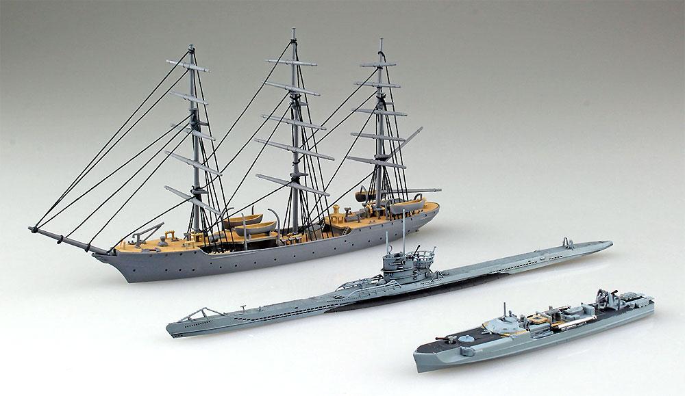 ドイツ海軍 クリスチャン ラディック & Sボート & Uボートプラモデル(アオシマ1/350 アイアンクラッドNo.4905083056578)商品画像_2