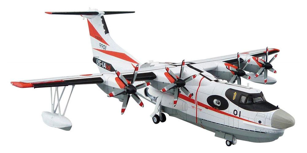 海上自衛隊 救難飛行艇 US-2 試作機プラモデル(アオシマ1/144 航空機No.002)商品画像_3