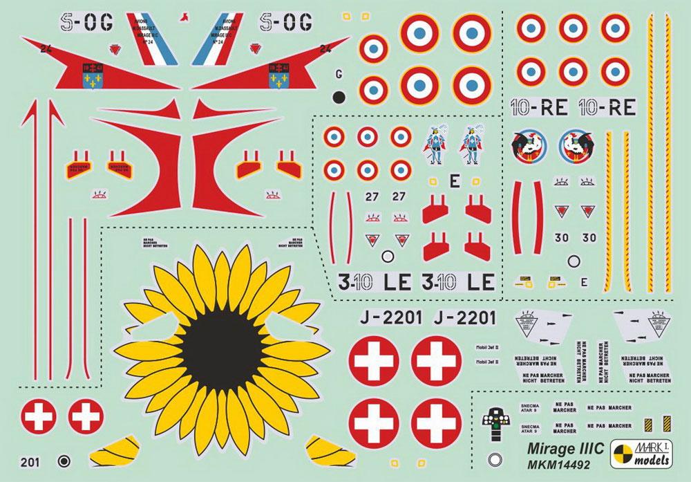 ミラージュ 3Cプラモデル(MARK 1MARK 1 modelsNo.MKM14492)商品画像_2