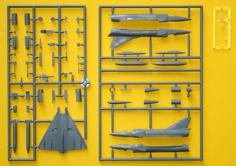 ミラージュ 3E/3EE/3RS/5BAプラモデル(MARK 1MARK 1 modelsNo.MKM144101)商品画像_3