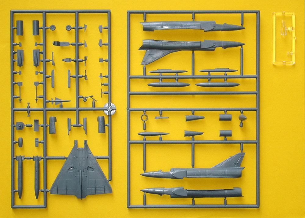 ミラージュ 3O/3EP/3RZ/5ADプラモデル(MARK 1MARK 1 modelsNo.MKM144102)商品画像_3
