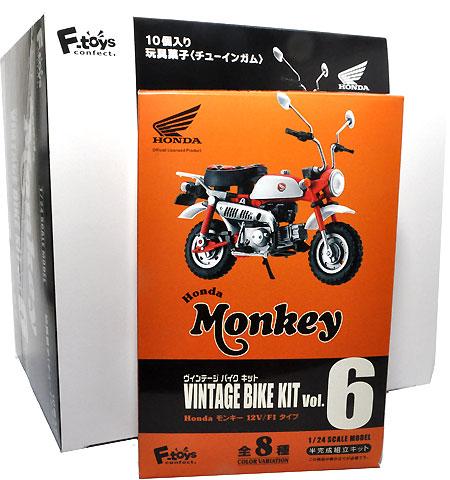 ホンダ モンキー 12V/F1タイプ (1BOX)プラモデル(エフトイズヴィンテージ バイク キットNo.Vol.006)商品画像