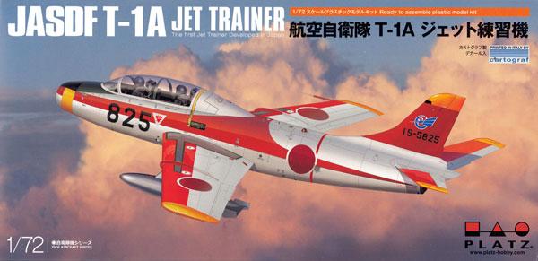 航空自衛隊 T-1A ジェット練習機プラモデル(プラッツ航空自衛隊機シリーズNo.AC-030)商品画像