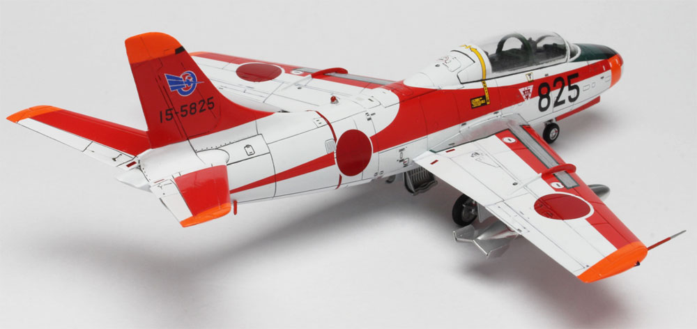 航空自衛隊 T-1A ジェット練習機プラモデル(プラッツ航空自衛隊機シリーズNo.AC-030)商品画像_4