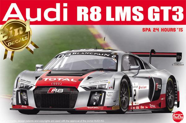 アウディ R8 LMS GT3 2015 スパ24時間レースプラモデル(NuNu1/24 レーシングシリーズNo.PN24004)商品画像