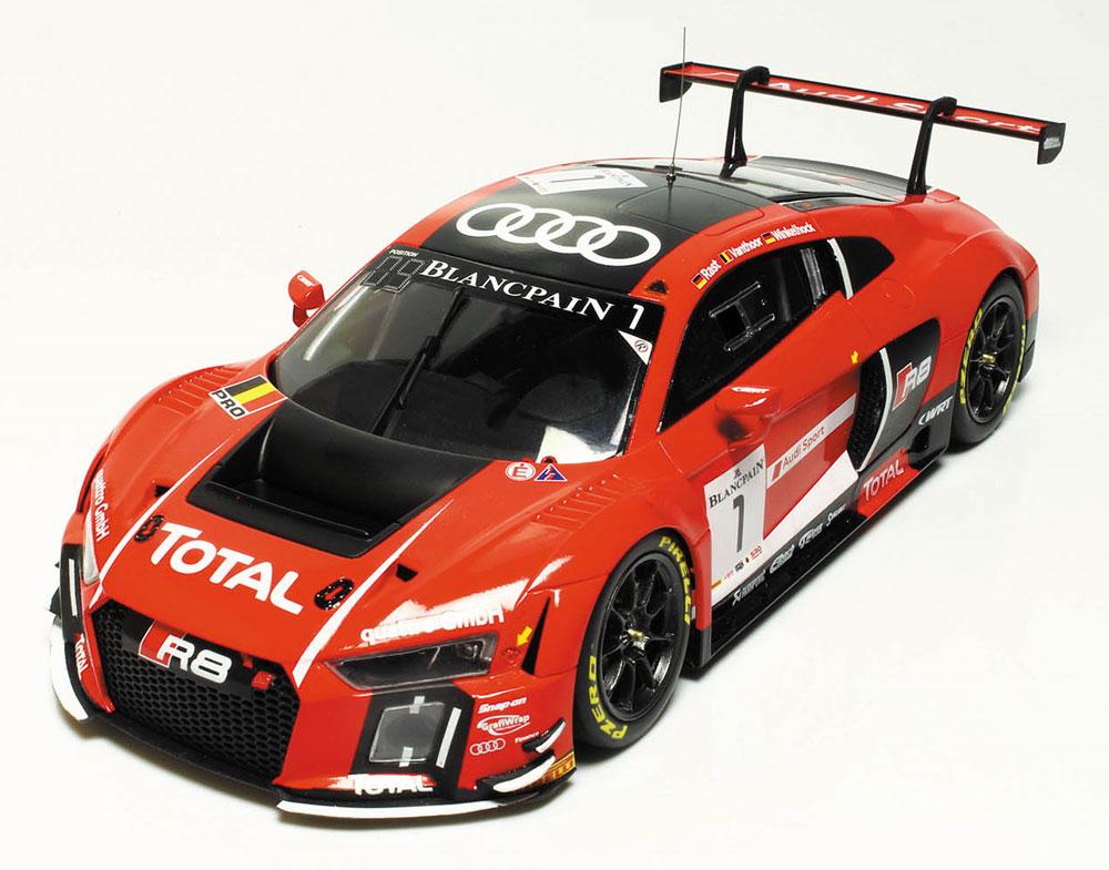 アウディ R8 LMS GT3 2015 スパ24時間レースプラモデル(NuNu1/24 レーシングシリーズNo.PN24004)商品画像_3