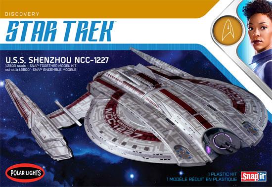 NCC-1227 U.S.S. シェンジョウ スタートレック ディスカバリープラモデル(ポーラライツスタートレック (STAR TREK)No.POL967M/12)商品画像