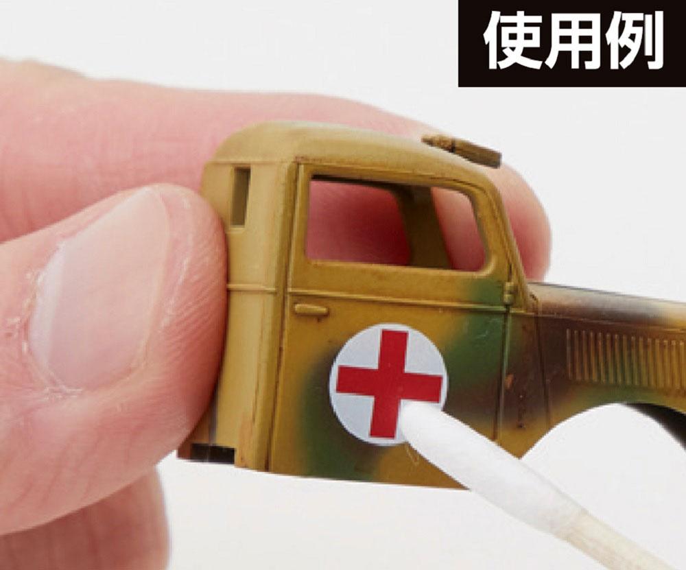 Mr.綿棒 木軸タイプ 30本入り綿棒(GSIクレオス塗装支援ツールNo.GT118)商品画像_3