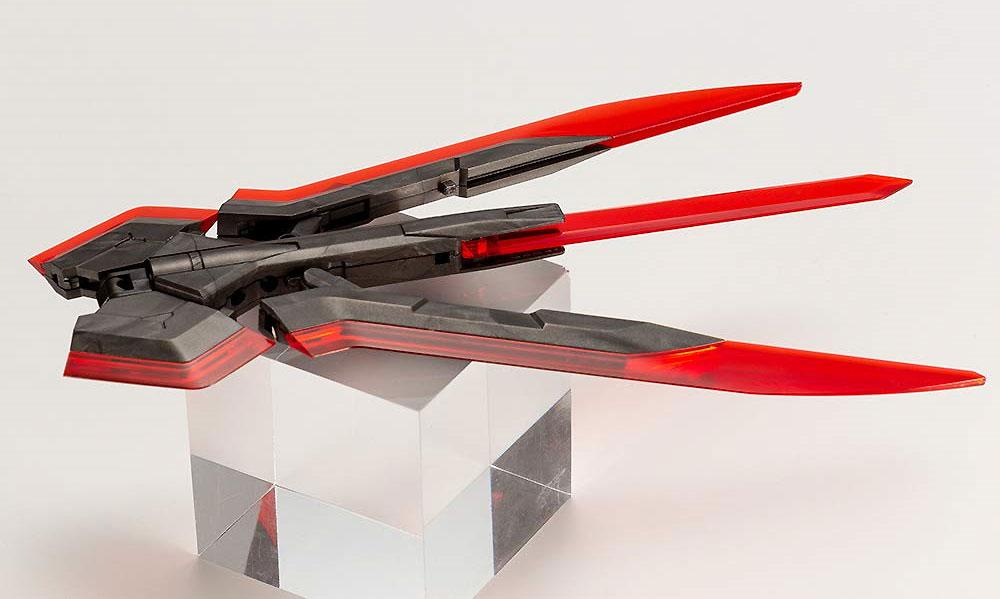 ヘヴィウェポンユニット 05EX メガスラッシュエッジ Special Edition CRYSTAL REDプラモデル(コトブキヤヘヴィウェポンユニットNo.SP001)商品画像_2
