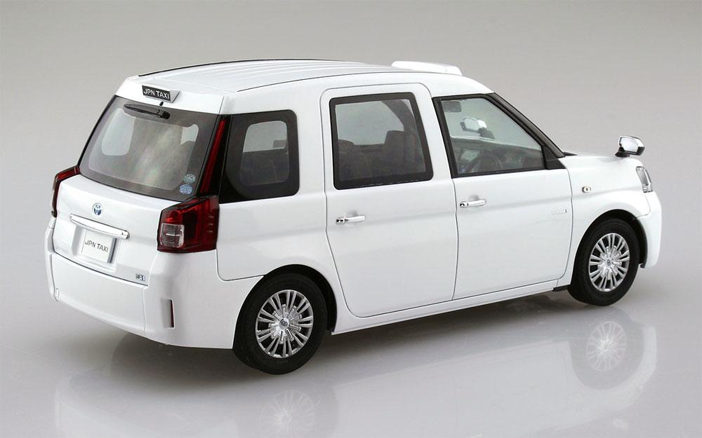 トヨタ NTP10 JPN タクシー '17 スーパーホワイト 2プラモデル(アオシマ1/24 ザ・モデルカーNo.009)商品画像_3