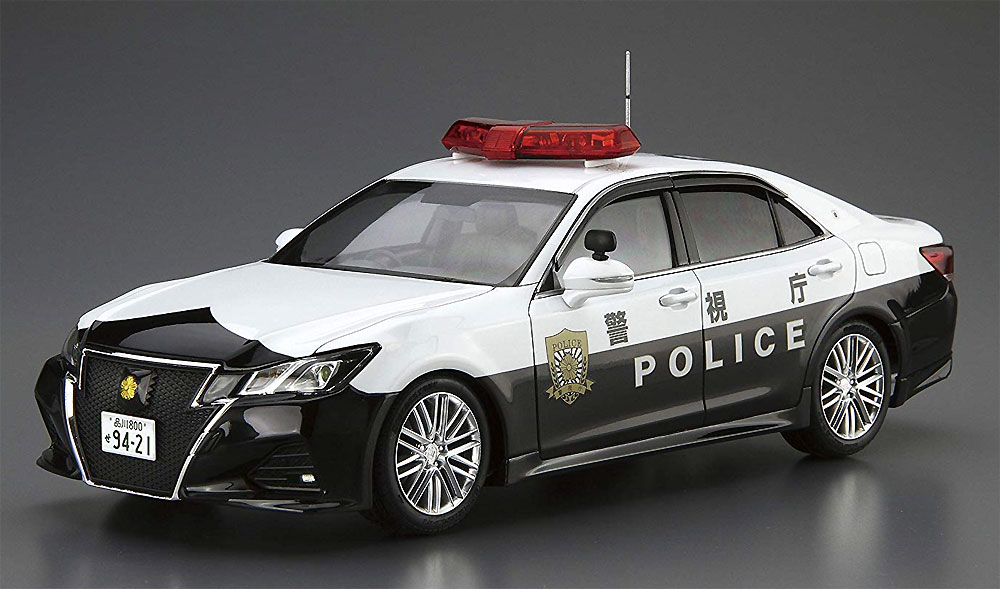 トヨタ GRS214 クラウン パトロールカー 交通取締用 '16プラモデル(アオシマ1/24 ザ・モデルカーNo.110)商品画像_2
