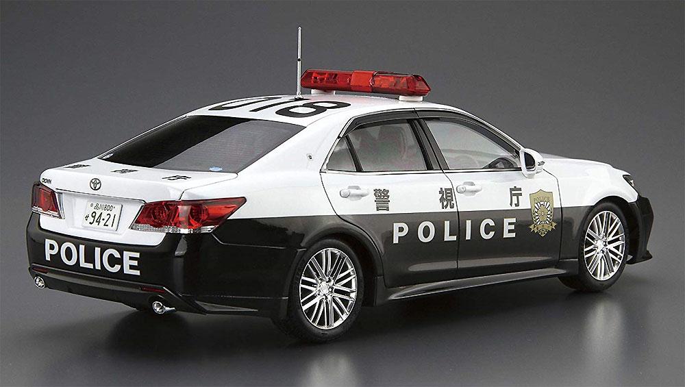 トヨタ GRS214 クラウン パトロールカー 交通取締用 '16プラモデル(アオシマ1/24 ザ・モデルカーNo.110)商品画像_3