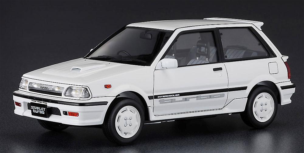 トヨタ スターレット EP71 ターボS 3ドア 後期型プラモデル(ハセガワ1/24 自動車 HCシリーズNo.HC032)商品画像_2