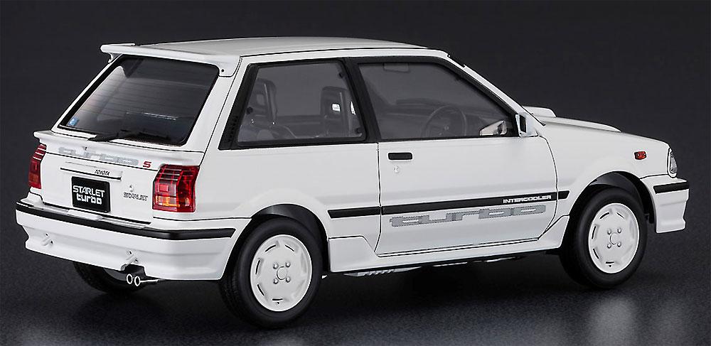 トヨタ スターレット EP71 ターボS 3ドア 後期型プラモデル(ハセガワ1/24 自動車 HCシリーズNo.HC032)商品画像_3