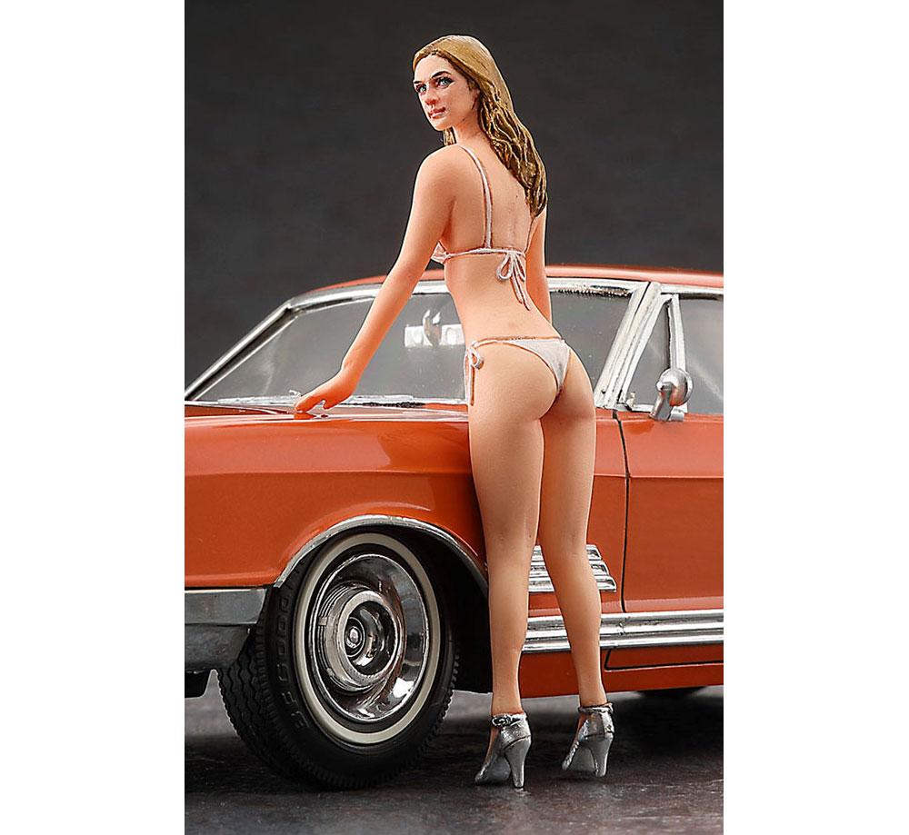 1966 アメリカン クーペ タイプB w/ブロンドガールズフィギュアプラモデル(ハセガワ1/24 自動車 限定生産No.SP413)商品画像_4