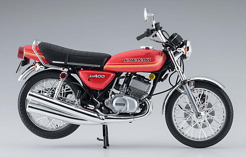 カワサキ KH400-A3/A4プラモデル(ハセガワ1/12 バイクシリーズNo.21720)商品画像_2