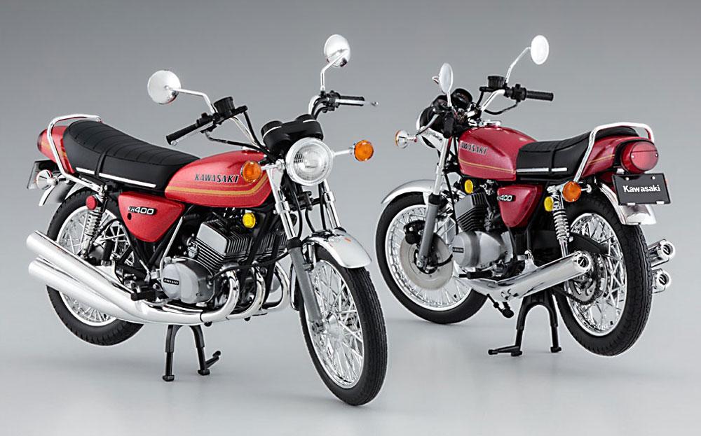 カワサキ KH400-A3/A4プラモデル(ハセガワ1/12 バイクシリーズNo.21720)商品画像_4