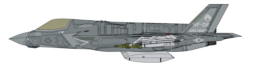 F-35 ライトニング 2 (B型)  ビーストモードプラモデル(ハセガワ1/72 飛行機 限定生産No.02306)商品画像_2