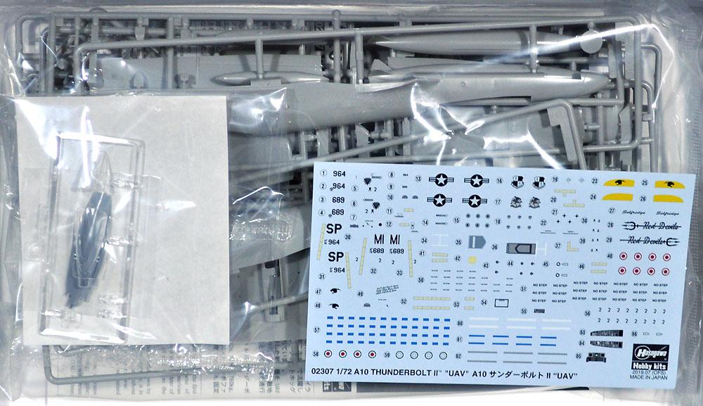 A10 サンダーボルト 2 UAVプラモデル(ハセガワ1/72 飛行機 限定生産No.02307)商品画像_1