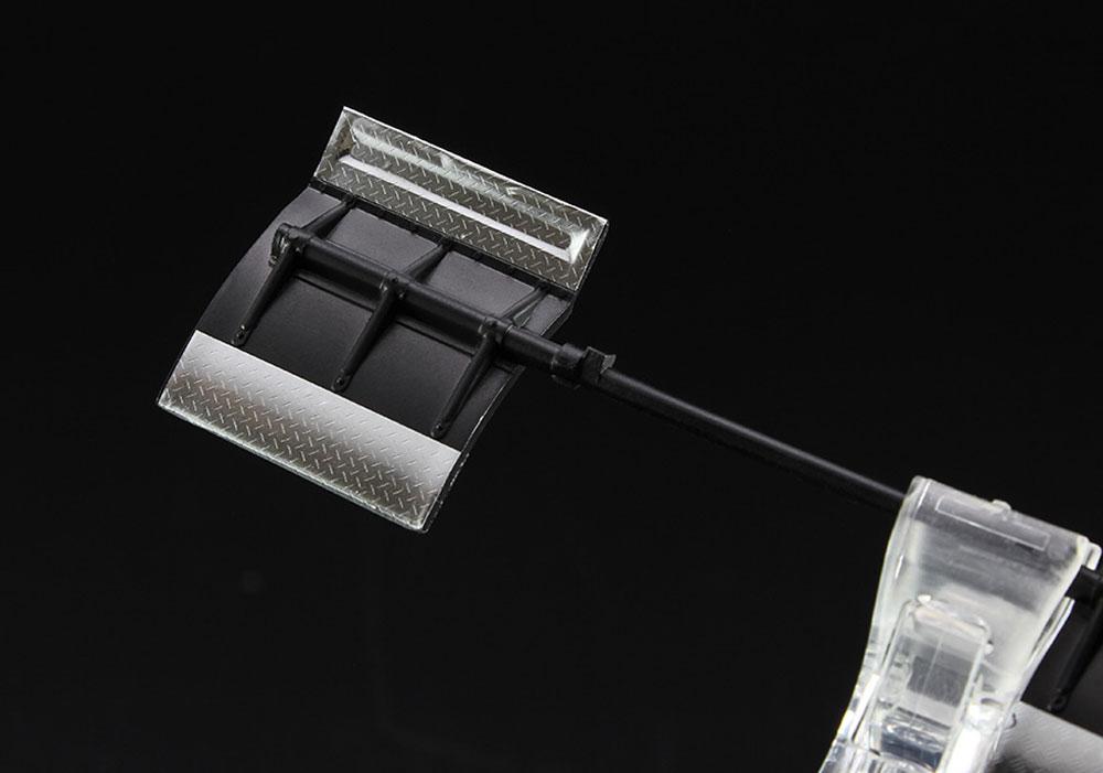 縞板フィニッシュ A (ステンレス) S (曲面追従金属艶消しシート)曲面追従シート(ハセガワトライツールNo.TF937)商品画像_3