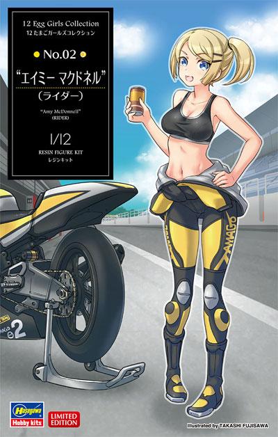 エイミー マクドネル (ライダー)レジン(ハセガワたまごガールズコレクションNo.002)商品画像