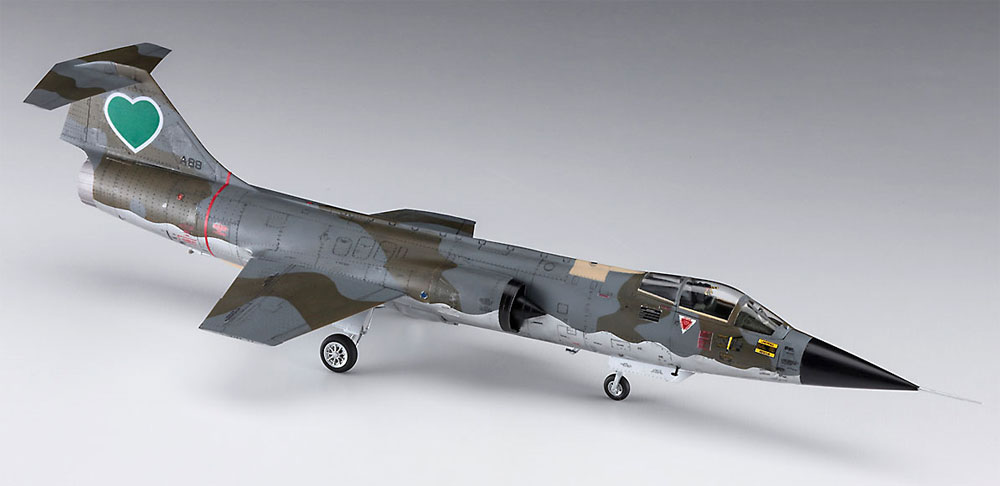 F-104 スターファイター G型 セイレーン バルナック (エリア88)プラモデル(ハセガワクリエイター ワークス シリーズNo.64774)商品画像_2