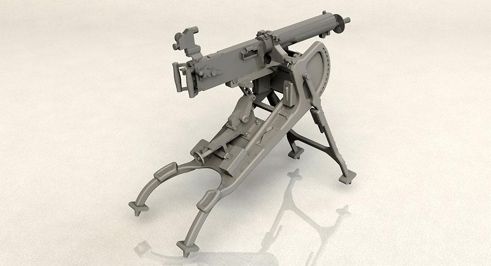 ドイツ MG08 重機関銃プラモデル(ICM1/35 ミリタリービークル・フィギュアNo.35710)商品画像_3
