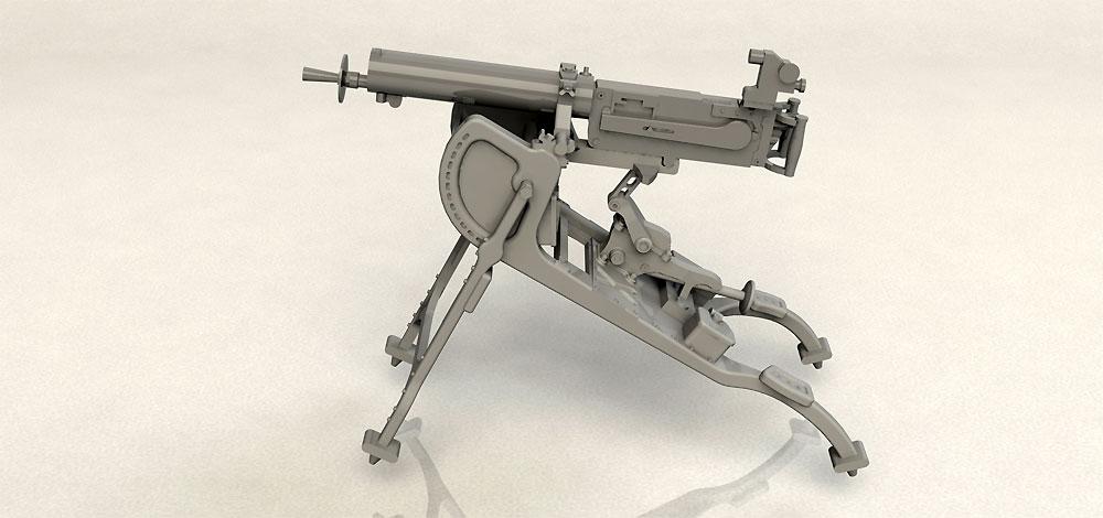 ドイツ MG08 重機関銃プラモデル(ICM1/35 ミリタリービークル・フィギュアNo.35710)商品画像_4