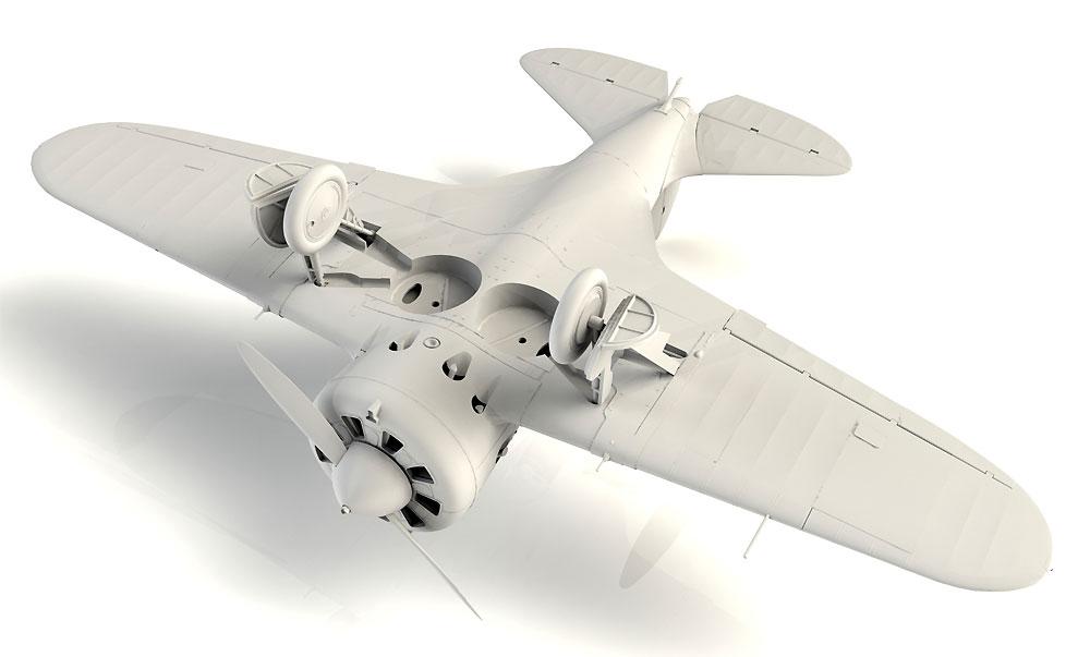 ポリカルポフ I-16 タイプ10プラモデル(ICM1/32 エアクラフトNo.32004)商品画像_4
