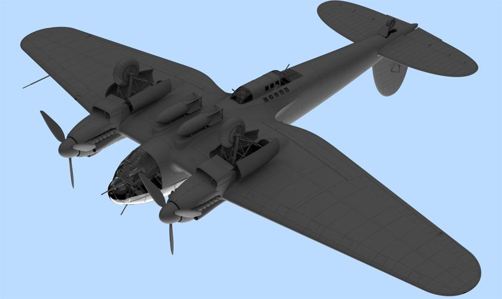 ハインケル He111H-6 爆撃機 北アフリカプラモデル(ICM1/48 エアクラフト プラモデルNo.48265)商品画像_4