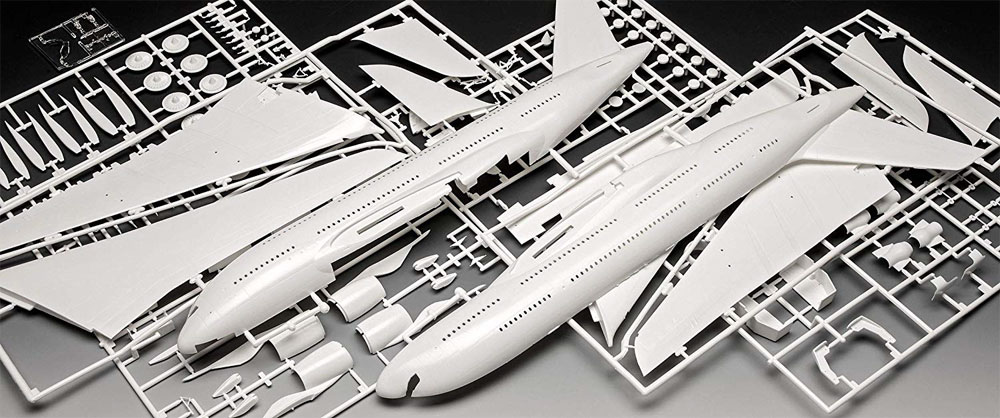 エアバス A380-800 ルフトハンザ New Liveryプラモデル(レベル1/144 旅客機No.03872)商品画像_1