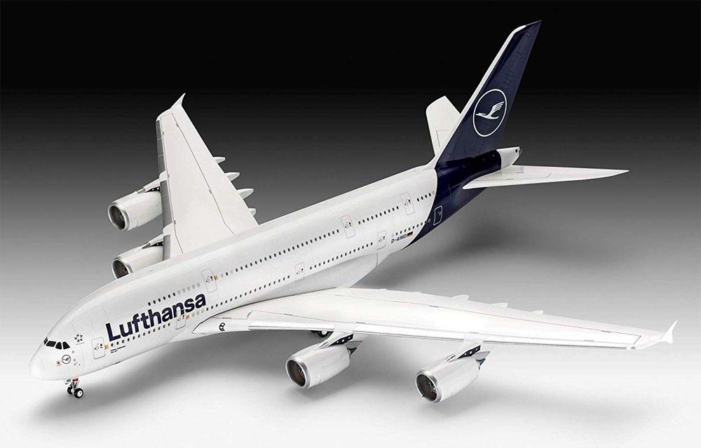 エアバス A380-800 ルフトハンザ New Liveryプラモデル(レベル1/144 旅客機No.03872)商品画像_2