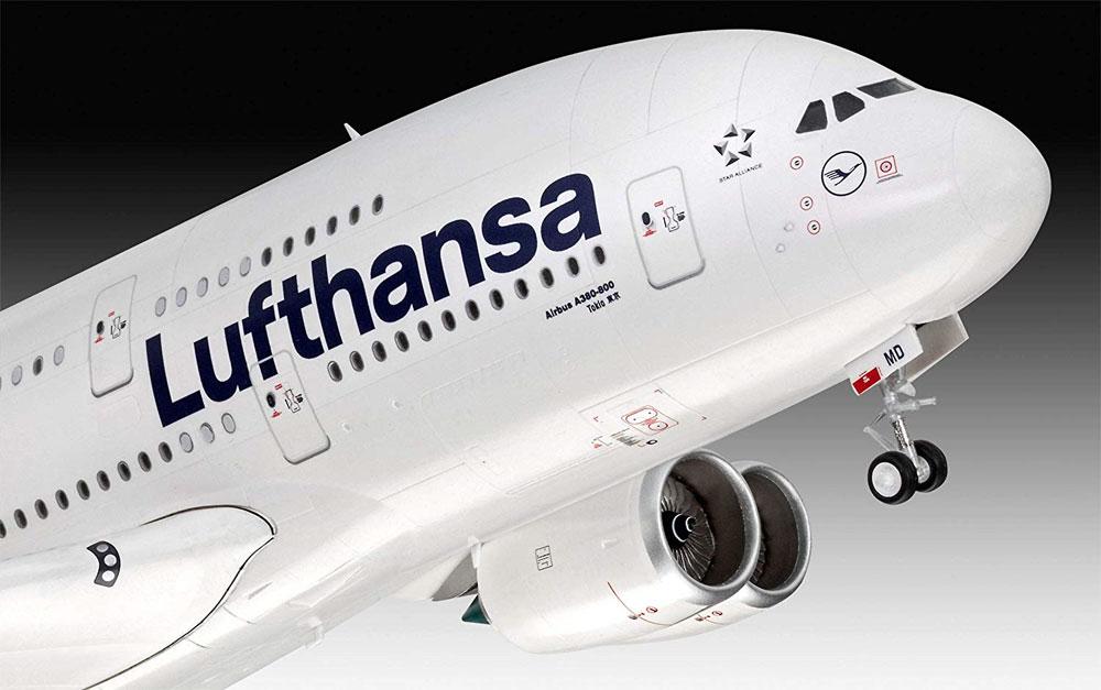 エアバス A380-800 ルフトハンザ New Liveryプラモデル(レベル1/144 旅客機No.03872)商品画像_3