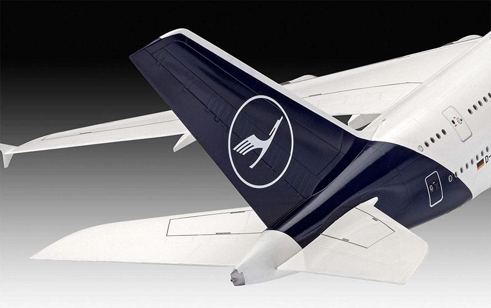 エアバス A380-800 ルフトハンザ New Liveryプラモデル(レベル1/144 旅客機No.03872)商品画像_4