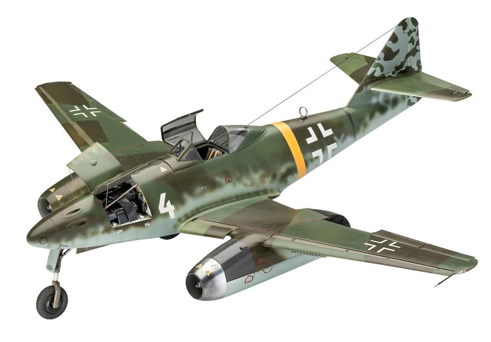 メッサーシュミット Me262A-1/A-2プラモデル(レベル1/32 AircraftNo.03875)商品画像_2