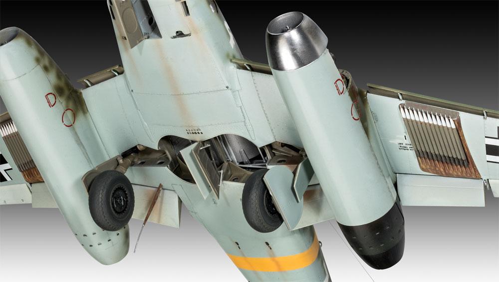 メッサーシュミット Me262A-1/A-2プラモデル(レベル1/32 AircraftNo.03875)商品画像_3