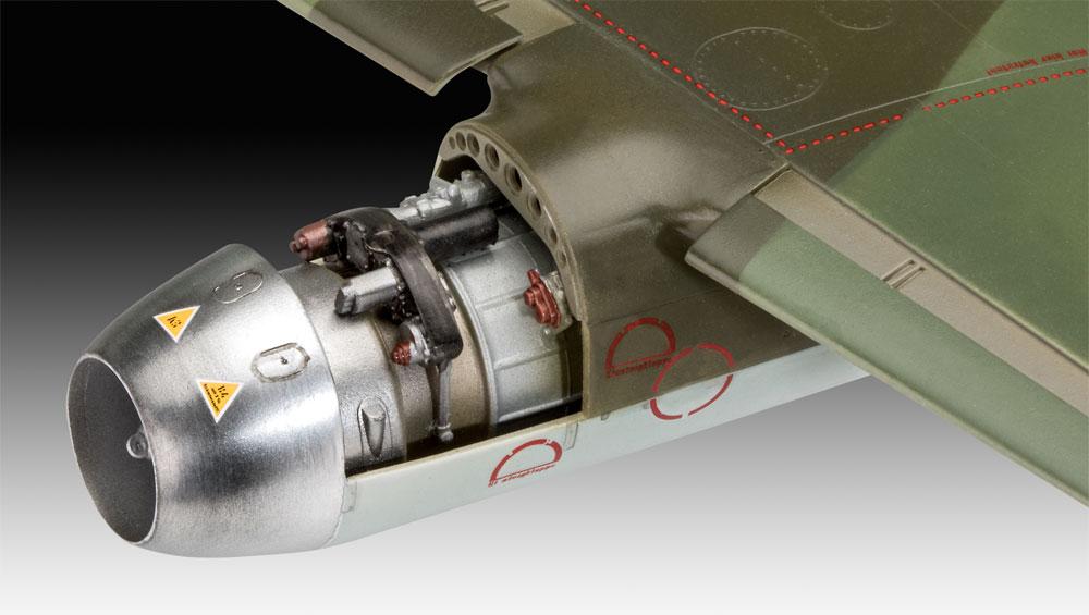 メッサーシュミット Me262A-1/A-2プラモデル(レベル1/32 AircraftNo.03875)商品画像_4