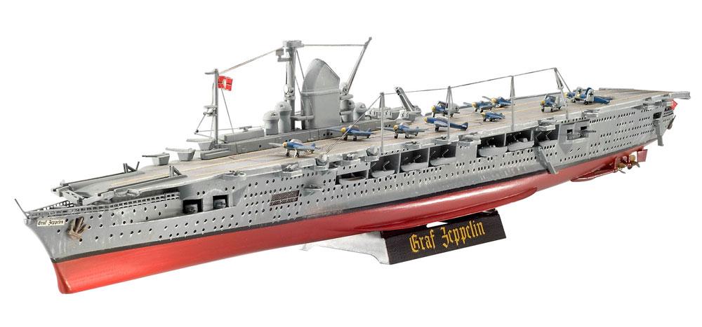 ドイツ 航空母艦 グラーフ ツェッペリンプラモデル(レベル1/720 艦船モデルNo.05164)商品画像_2