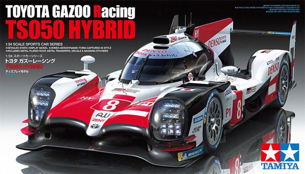トヨタ ガズーレーシング TS050 HYBRIDプラモデル(タミヤ1/24 スポーツカーシリーズNo.349)商品画像