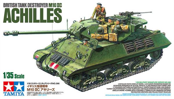 イギリス 駆逐戦車 M10 2C アキリーズプラモデル(タミヤ1/35 ミリタリーミニチュアシリーズNo.366)商品画像