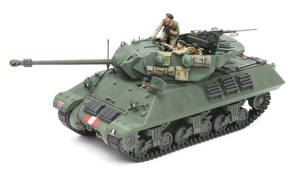 イギリス 駆逐戦車 M10 2C アキリーズプラモデル(タミヤ1/35 ミリタリーミニチュアシリーズNo.366)商品画像_2