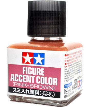 スミ入れ塗料 ピンクブラウン塗料(タミヤメイクアップ材No.87201)商品画像